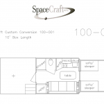 10 foot floor plan 100-001