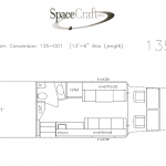 13.5 foot floor plan 135-001