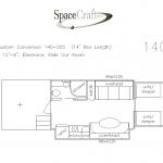 14 foot floor plan 140 - 005