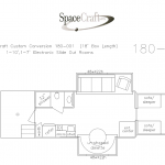 18 foot floor plan 180 - 001