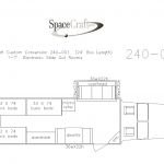 24 foot floor plan  240-001