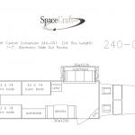 24 foot floor plan  240-001