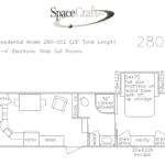 28 foot floor plan 280-002