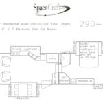 29 foot floor plan 290-001