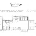 32 foot floor plan 320 - 001