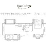 32 foot floor plan 320-007