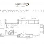 34 foot floor plan 340-001