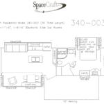 34 foot floor plan 340-003