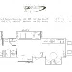 35 foot floor plan 350-001