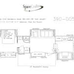 39 foot floor plan 390-005