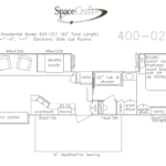 40 foot floor plan 400-027