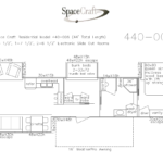 44 foot floor plan 440-006