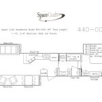 44 foot floor plan 440-009