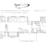 45 foot floor plan 450-012