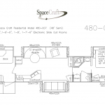 48 Foot Floor Plan 480-007