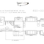 49 Foot Floor Plan 490-004