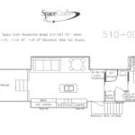 51 Foot Floor Plan 510-001