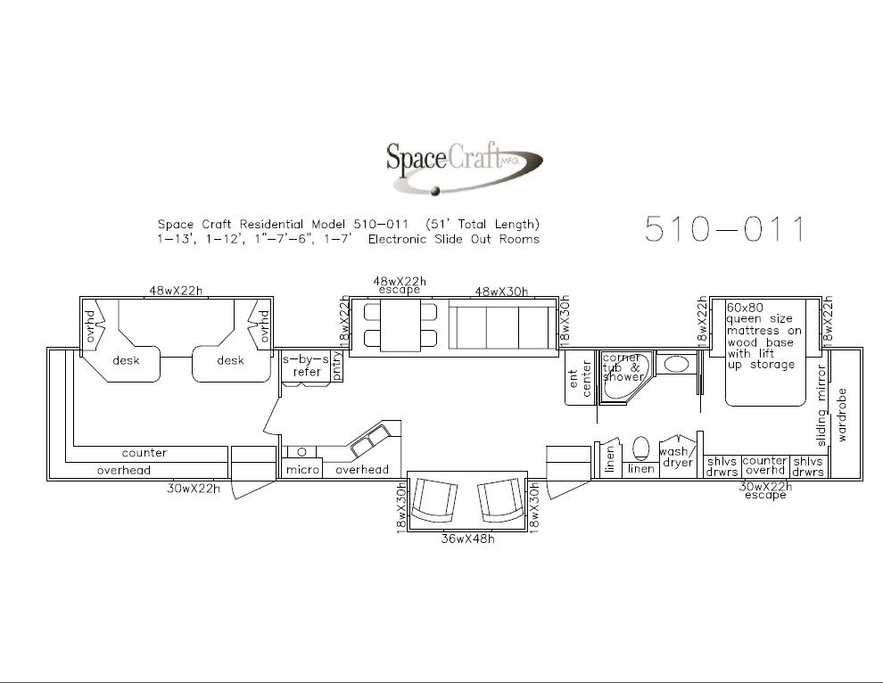 51 floor floor plan 510-011
