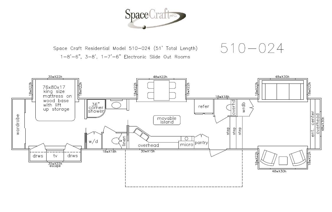 51 floor floor plan 510-024