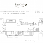 53 Foot Floor Plan 530-096