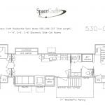 53 Foot Floor Plan 530-096