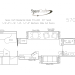 57 Foot Floor Plan 570-006