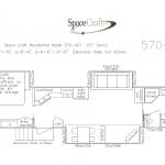 57 Foot Floor Plan 570-007