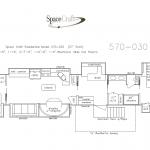 57 Foot Floor Plan 570-030