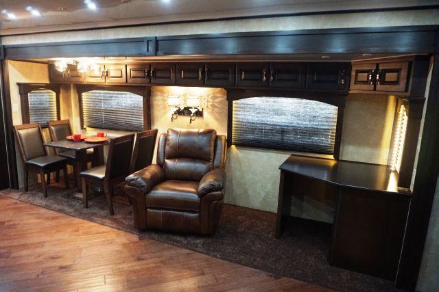 Dining Area, Recliner w/ Desk