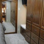 Bedroom Wardrobe w/ Bench Seat