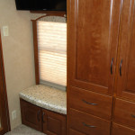 Bedroom Armoire and Entertainment - Fifth Wheel