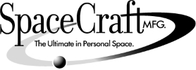 Space Craft MFG. logo