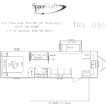 34 foot floor plan TRV-096
