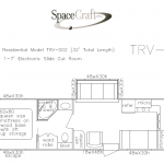 32 foot floor plan TRV-002