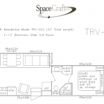 33 foot floor plan TRV-003