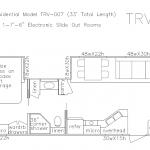 33 foot floor plan TRV-007