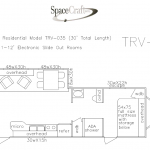 30 foot floor plan TRV-035