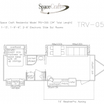 34 foot floor plan TRV-055