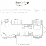 35 foot floor plan TRV-056