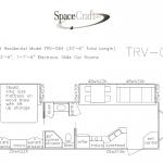 33.5 foot floor plan TRV-064