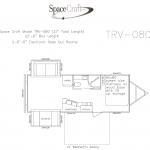 27 foot floor plan TRV-080