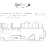 32.5 foot floor plan TRV-084