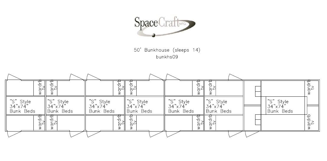 50 foot floor plan
