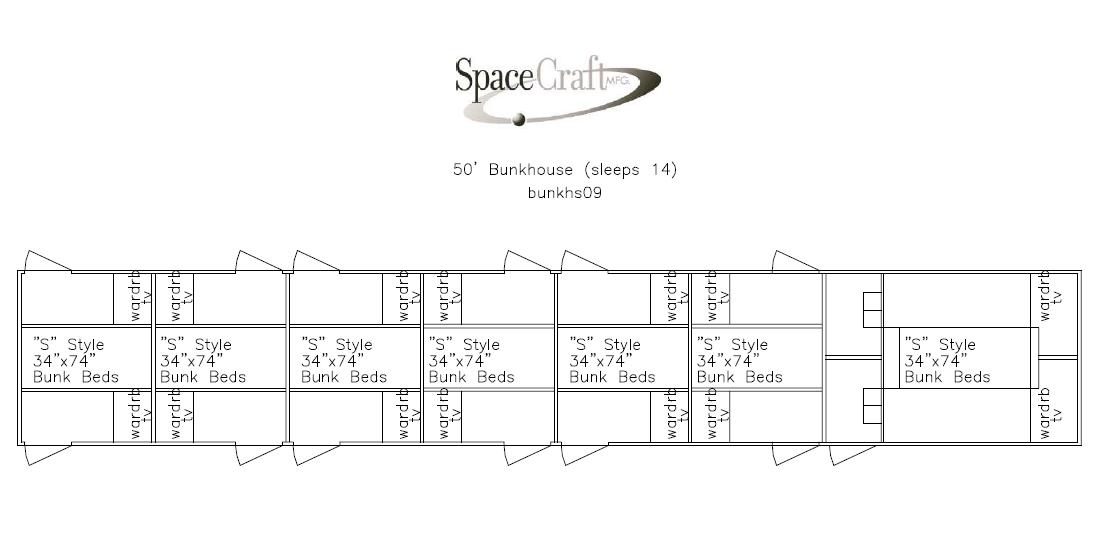 50 foot floor plan