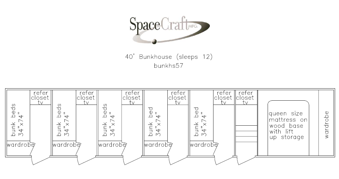 40 foot floor plan