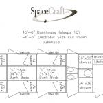 45.5 foot floor plan