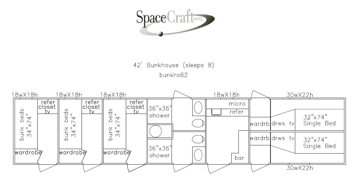 42 foot floor plan