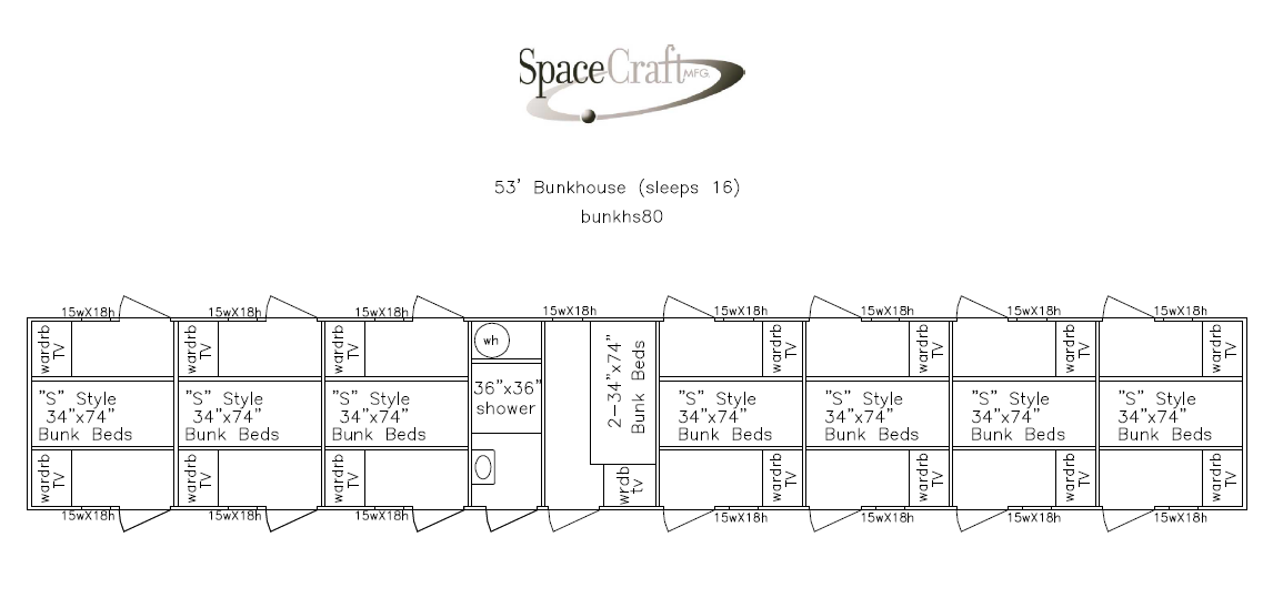 53 foot floor plan