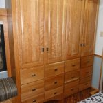 Bedroom Wardrobe w/ 12 Drawers