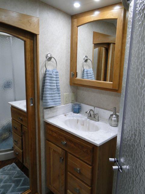 Bath Vanity & Medicine Cabinet